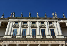 Palazzo Chiericati en Vicenza fotografía de archivo libre de regalías