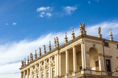 Palazzo Chiericati in Vicenza Royalty Free Stock Photos