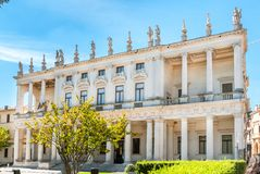 Palazzo Chiericati in Vicenza Royalty Free Stock Images