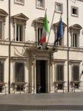 Palazzo Chigi в Рим Стоковая Фотография RF