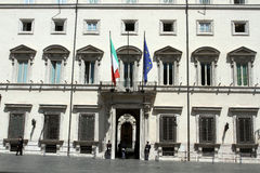 Palazzo Chigi Fotografia Stock