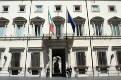 Palazzo Chigi Immagine Stock Libera da Diritti