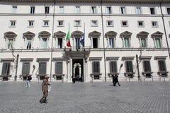 Palazzo Chigi in Rome Stock Image