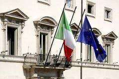 Palazzo Chigi in Rome royalty-vrije stock foto's