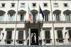Palazzo Chigi Royalty Free Stock Image
