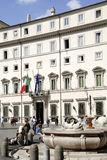 Palazzo Chigi in Rome Stock Photography
