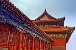 Palazzo cinese antico Fotografia Stock Libera da Diritti