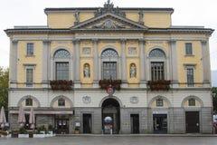 Palazzo Civico in Lugano Stock Image