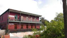 Palazzo classico che funziona come ristorante nel distretto del beatnik di Barranco di Lima Immagini Stock