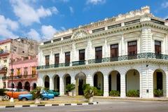 Palazzo coloniale trasformato in un hotel a vecchia Avana Immagini Stock Libere da Diritti