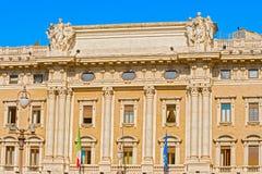 Palazzo Colonna, Galleria Di Piazza Colonna in Rome, Italië Royalty-vrije Stock Foto's