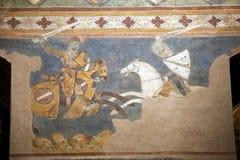 Palazzo Comunale,圣吉米尼亚诺,托斯卡纳,意大利 图库摄影