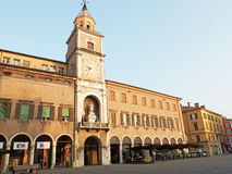 Palazzo Comunale Моденаа, в эмилия-Романье Италия Стоковое Фото