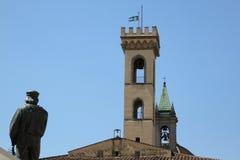 Palazzo Comunale Fotografering för Bildbyråer