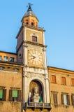 Palazzo Comunale av Modena, i Emilia-Romagna italy Arkivfoto