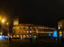 Palazzo Comunale in Bologna, Italy Stock Photography