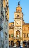 Palazzo Comunale de Modène, dans Émilie-Romagne l'Italie Photographie stock libre de droits