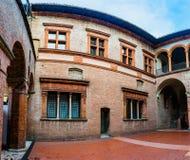 Palazzo Comunale im Bologna, Italien Lizenzfreies Stockfoto