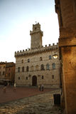 Palazzo Comunale in Montepulciano (Italy) Stock Photos