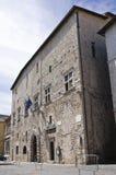 Palazzo comunale. Narni. L'Umbria. L'Italia. Fotografie Stock