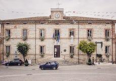 Palazzo Comunale - pałac miejski administratio obraz stock