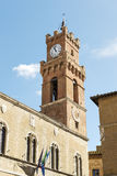 Palazzo Comunale Pienza Stock Images