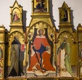 Palazzo Comunale, San Gimignano, Italië Royalty-vrije Stock Fotografie