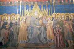 Palazzo Comunale, San Gimignano, Toskana, Italien Stockbilder