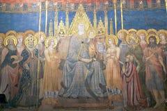 Palazzo Comunale, San Gimignano, Tuscany, Italien Arkivbilder