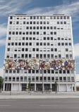 Palazzo con il mosaico fotografia stock libera da diritti