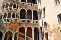 Palazzo Contarini del Bovolo,威尼斯意大利 库存图片