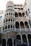 Palazzo Contarini del Bovolo -蜗牛房子在威尼斯,意大利 库存图片
