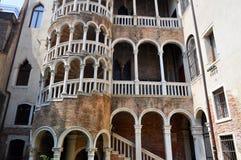 Palazzo Contarini del Bovolo, Venice Italy Stock Photos