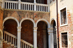 Palazzo Contarini del Bovolo, Venice Italy Royalty Free Stock Images