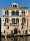 Palazzo Corner Spinell at the Grand Canal Royalty Free Stock Images