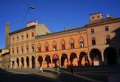Palazzo-corte isolani Bologna stockfoto
