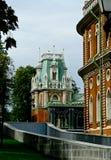 Palazzo costruito nella residenza reale Immagini Stock Libere da Diritti