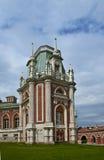 Palazzo costruito nella residenza reale Fotografie Stock Libere da Diritti