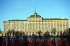 Palazzo in Cremlino Fotografia Stock