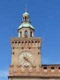 Palazzo d'Accursio,波隆纳 免版税库存照片