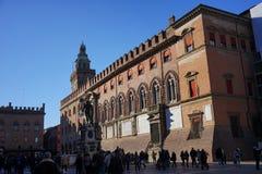 Palazzo d ` Accursio Bologna Fotografia Stock