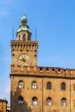 Palazzo-d'Accursio, Bologna Lizenzfreies Stockbild
