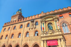 Palazzo d`Accursio Bologna Royalty Free Stock Photography