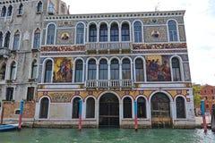 Palazzo Da Mula Morosini w Wenecja, Włochy Zdjęcie Stock