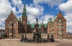 Palazzo Danimarca di Friederiksborg Fotografia Stock