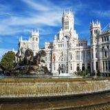 Palazzo de cibeles, Madrid Fotografie Stock