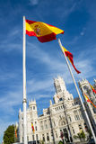 Palazzo de cibeles, Madrid Stock Photography