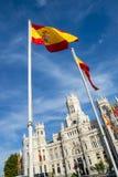 Palazzo de cibeles, Madrid Stock Photography