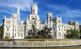 Palazzo de cibeles, Madrid Royalty Free Stock Images
