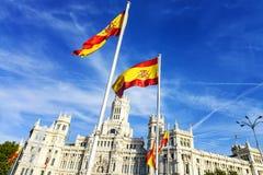 Palazzo de cibeles, Madrid Royalty Free Stock Photo